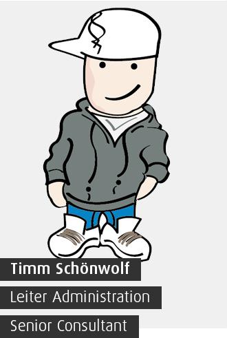 Timm Schönwolf / Leiter Administration / Senior Consultant